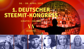 1. Deutscher Steemit Online-Kongress
