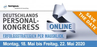 DEUTSCHLANDS ONLINE PERSONAL-KONGRESS 2020