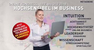Hochsensibel im Business Online-Kongress