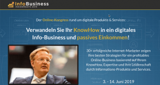 InfoBusiness Insider Days Online-Kongress