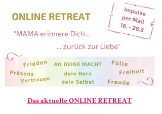 "Online Retreat für ""Mutter-Kind"""