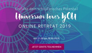 Universum loves you - Online Retreat 2019
